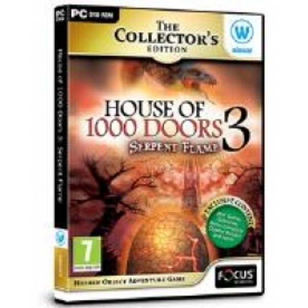 House of 1000 Doors Serpent Flame Collectors Edition Hidden Object Game for PC (DVD-ROM)