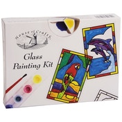 House of Crafts Start a Craft Glass Painting Craft Kit
