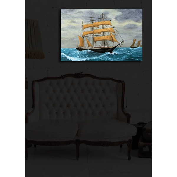 4570?ACT-23 Multicolor Decorative Led Lighted Canvas Painting