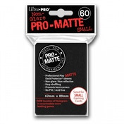 Ultra Pro Matte Small Black 60 Case of 10