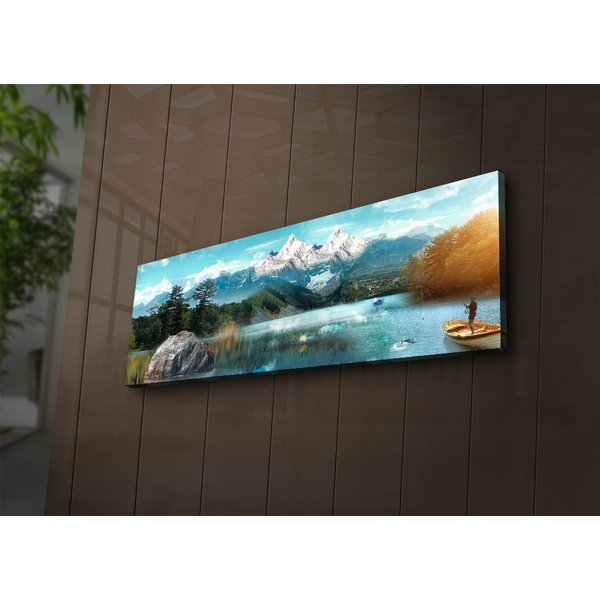 3090?ACT-62 Multicolor Decorative Led Lighted Canvas Painting