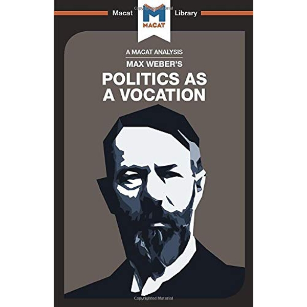 Politics as a Vocation by Tom McClean (Paperback, 2017)