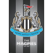 Newcastle United Club Crest 2013 Maxi Poster
