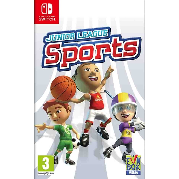 Junior League Sports Collection Nintendo Switch Game