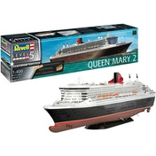 Queen Mary 2 Ocean Liner Platinum Edition 1:400 Scale Level 5 Revell Model Kit