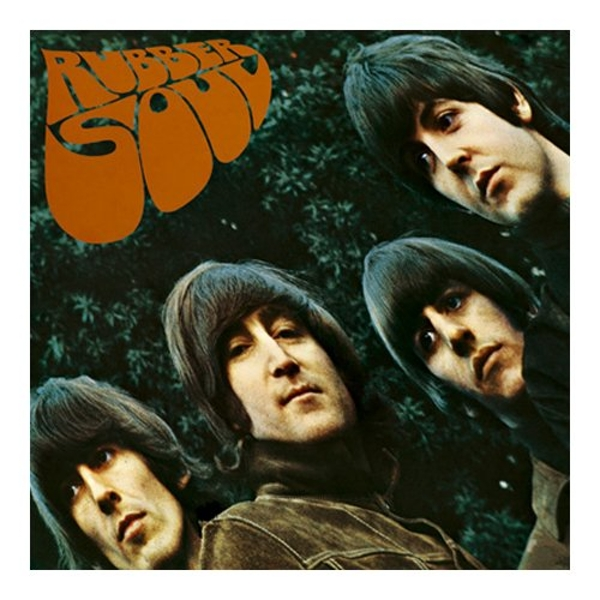 The Beatles - Rubber Soul Greetings Card