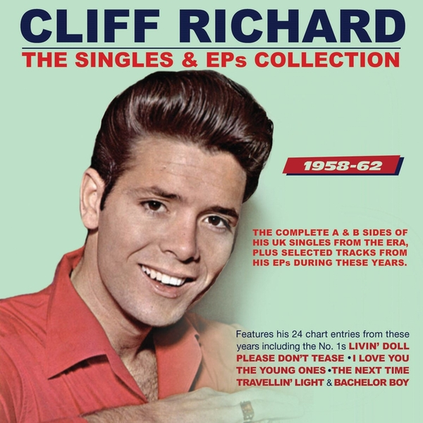 Cliff Richard - The Singles & EPs Collection 1958-62 CD