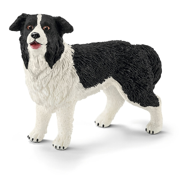 Schleich Farm World - Border Collie Figure