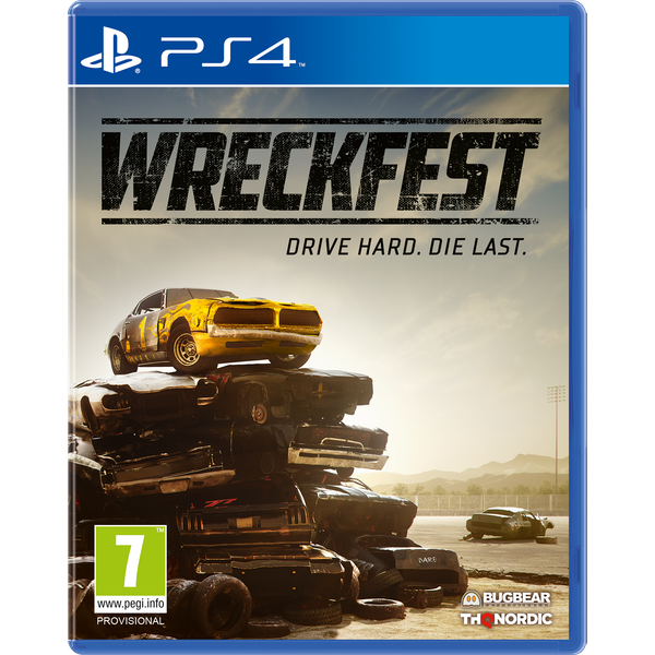 Wreckfest PS4 Game