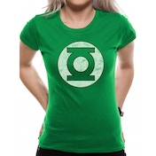 Green Lantern - Logo Women's Fitted XX-Large T-Shirt - Green