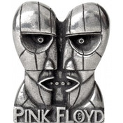 Pink Floyd Division Bell Heads Metal Pin Badge