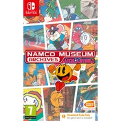 Namco Museum Archives Volume 1 Nintendo Switch Game [Download Code In A Box]