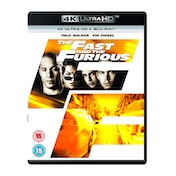 The Fast and the Furious 4K UHD Blu-Ray