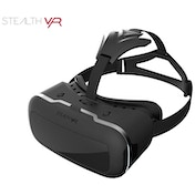 Stealth VR200 Virtual Reality Black Headset (iOS & Android)