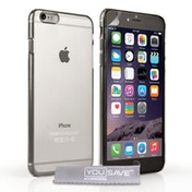 YouSave Accessories iPhone 6 Plus / 6s Plus Ultra Thin Gel Case - Crystal Clear