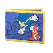 SEGA Sonic the Hedgehog - Charging Sonic Fabric Wallet - Blue