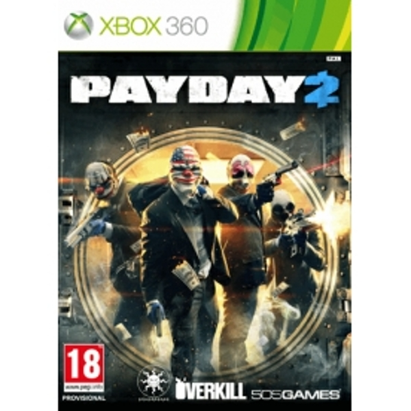 Payday 2 Game Xbox 360