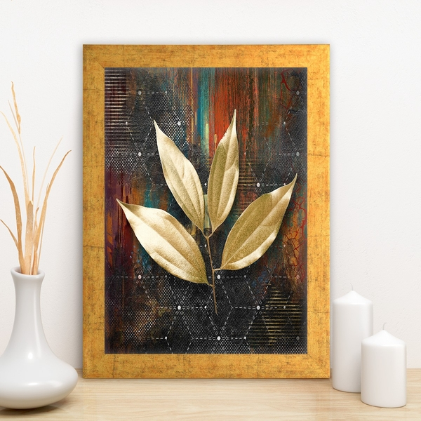 AC1574096485 Multicolor Decorative Framed MDF Painting