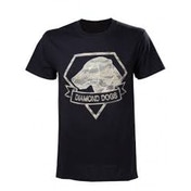 Metal Gear Solid V Diamond Dogs Army Men's Medium T-Shirt Black