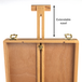 Wooden Table Box Easel | M&W - Image 8
