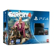 PlayStation 4 (500GB) Black Console with Far Cry 4