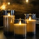 LED Candles - Set of 3 | M&W Grey - Image 2