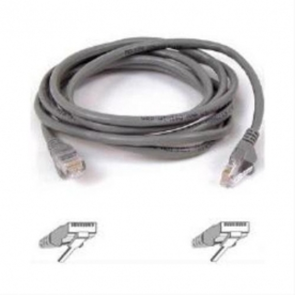 Compare prices for Belkin CAT5E Snagless Utp Patch Cable - Grey - 3m