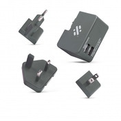 Swipe Tour - Travel Plug - Grey
