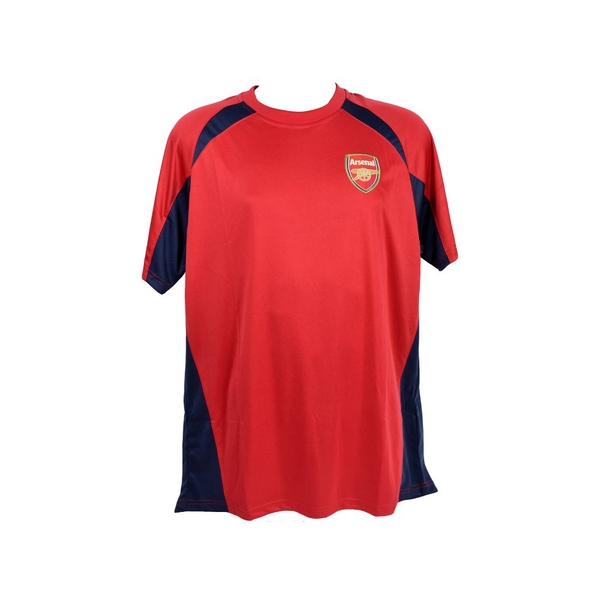 S Arsenal Poly Panel Tee Red Bagged