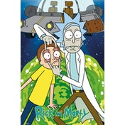 Rick and Morty Ship Maxi Poster