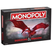 Dungeons & Dragons Monopoly Board Game
