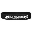 Metal Gear Solid Rising Silicone Wristband In Black