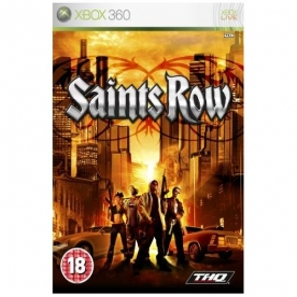 Saints Row Game Xbox 360