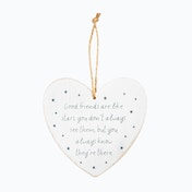 Sass & Belle Good Friends Are Like Stars Heart Plaque