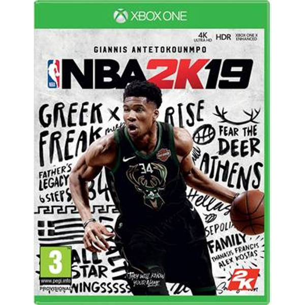 NBA 2K19 Xbox One Game - Image 1