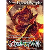 Force of Will TCG Reiya Clusters 1 Fire Starter Deck Blood of Dragons