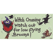Witch Crossing, Look Out Pack Of 12
