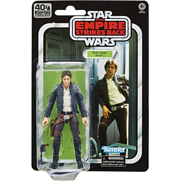 Han Solo Bespin (Star Wars) Black Series 40th Anniversary Retro Action Figure - Image 1
