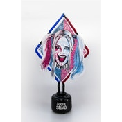 DC Suicide Squad Red and Blue Harley Quin Neon Table Light UK Plug