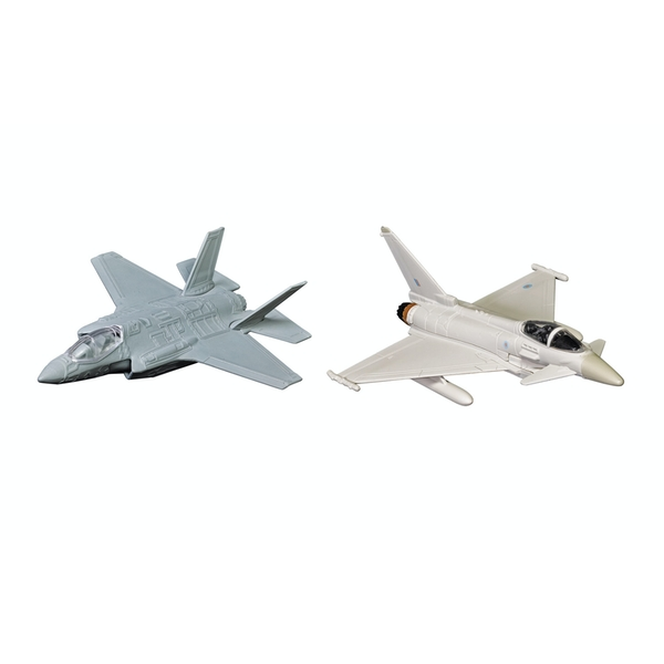 Corgi Defence of the Realm Collection (F-35® and Eurofighter Typhoon) Diecast Model
