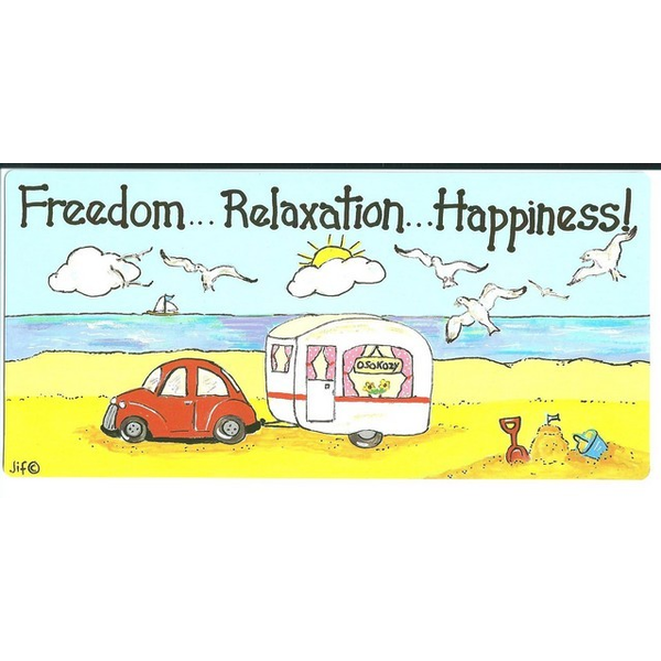Freedom...Relaxation...Happiness Pack Of 12
