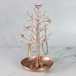 Tree Jewellery Display Stands Rose Gold | M&W - Image 2