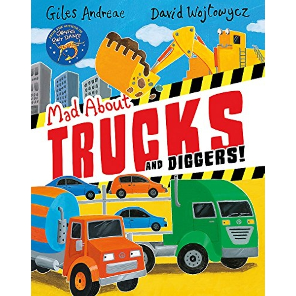 Mad About Trucks and Diggers!  Paperback / softback 2018