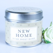 New Home (Sentiment Collection) Tin Candle