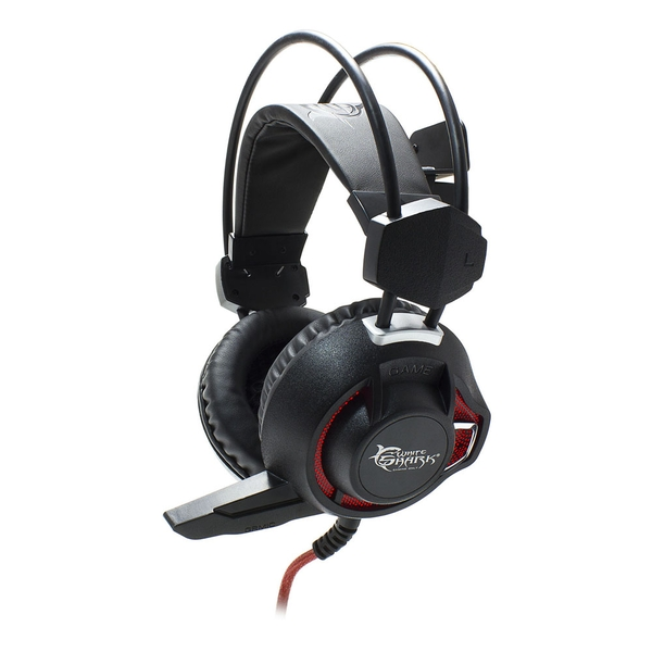 White Shark Gaming Gh-1842 Leopard Stereo Gaming Headset with Microphone and Red LED Lighting