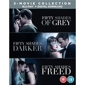Fifty Shades of Gray - 3-Movie Boxset  Blu-ray   digital download