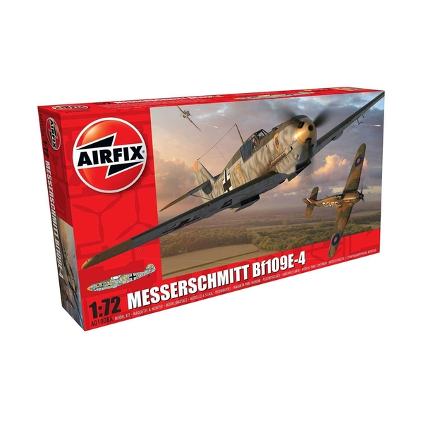 Messerschmitt Bf109E-4 1:72 Series 1 Air Fix Model Kit