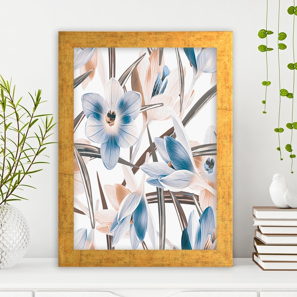 AC1042504987 Multicolor Decorative Framed MDF Painting