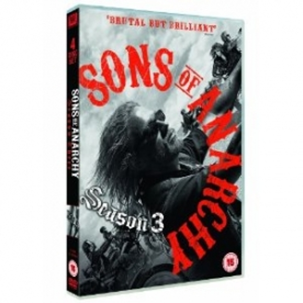 Sons of Anarchy Season 3 DVD