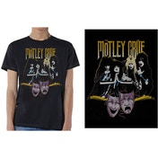 Motley Crue - Theatre Vintage Men's XX-Large T-Shirt - Black